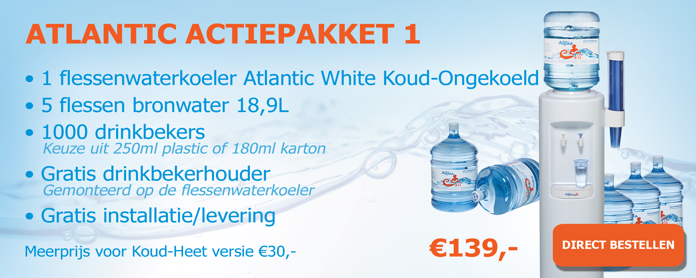 Atlantic White actiepakketten