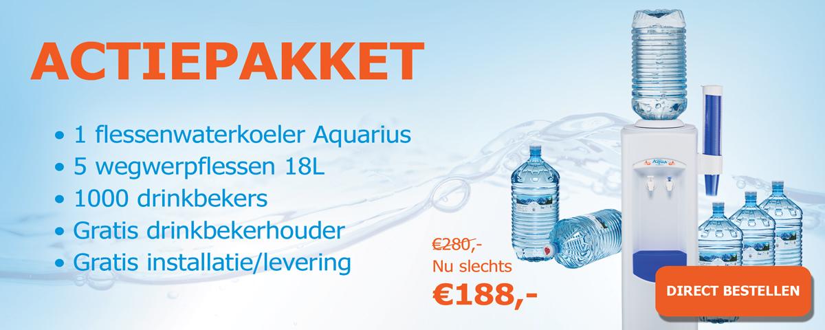 Bestel nu het Aquarius actie pakket 2