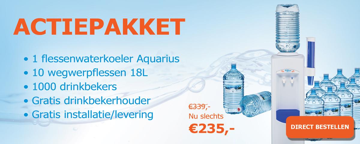 Bestel nu het Aquarius actie pakket 3