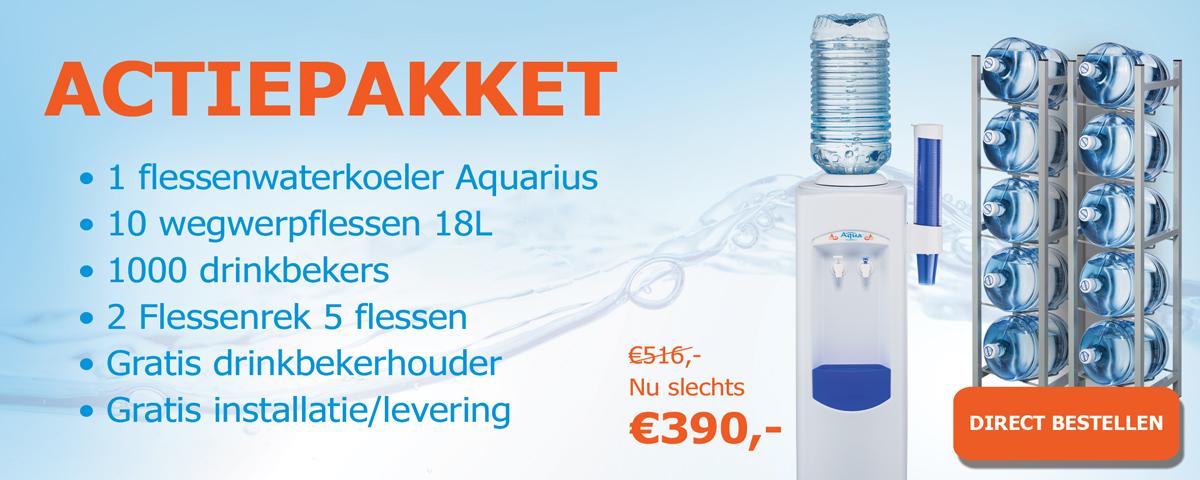 Bestel nu het Aquarius actie pakket 4
