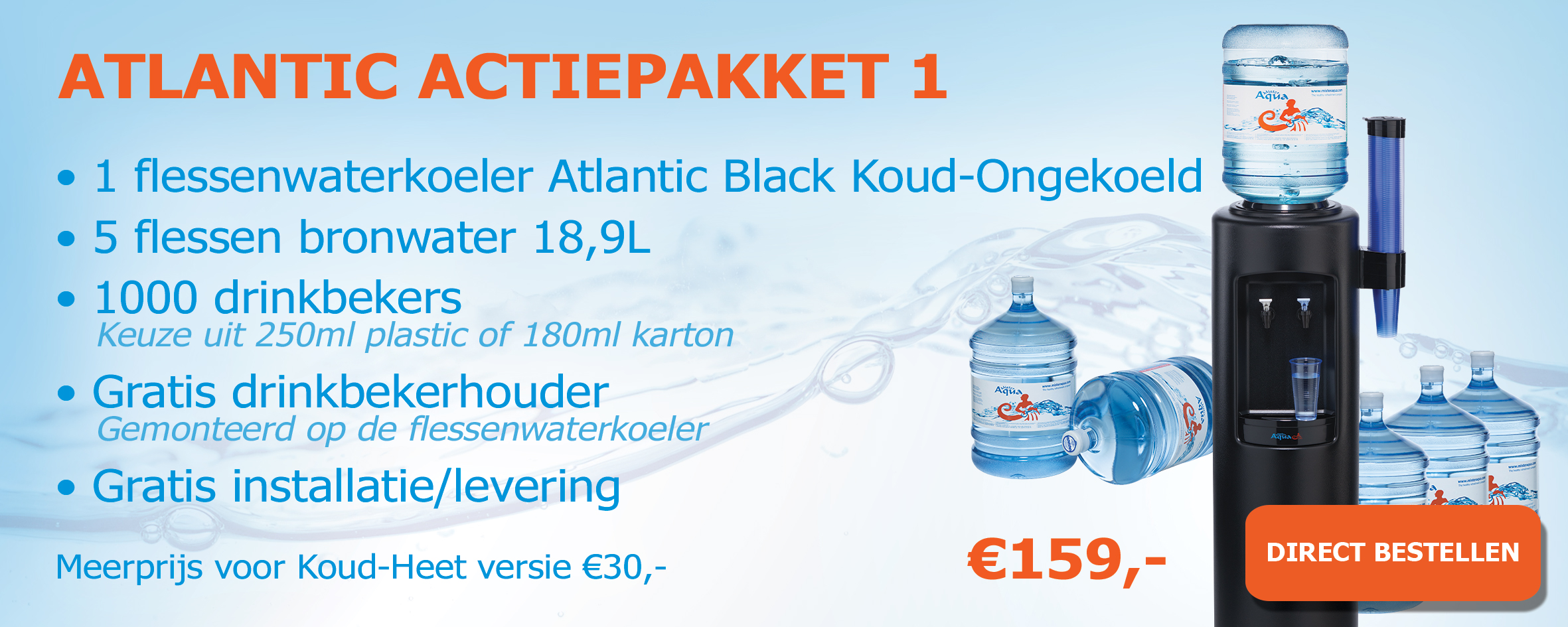Atlantic Black actiepakketten